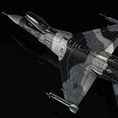 ��ʱ��ģ�͡�����1:48 � F-16C Black30