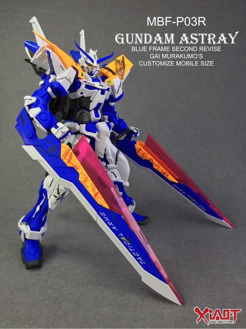 第三弹 MG 蓝异端 高达 科幻模型 小T图片