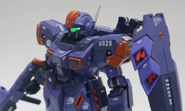 【作例】狙击型杰斯塔 三紫配色 小改