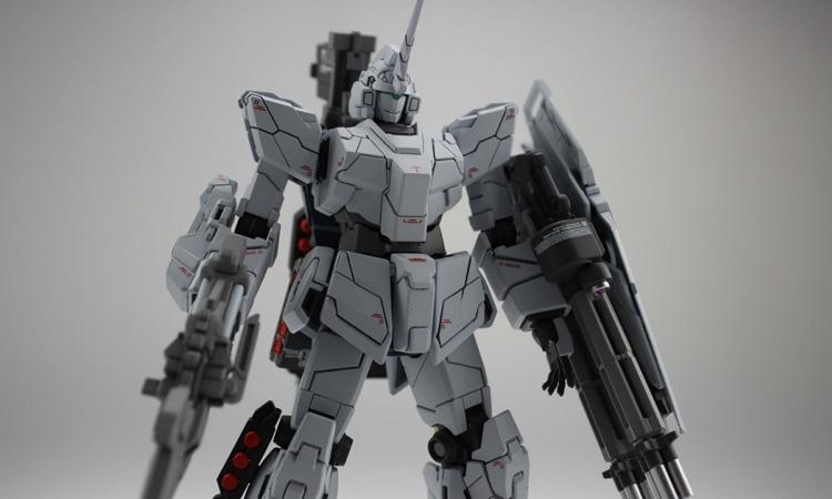 【作例】HgUc Unicorn Gundam RX-0
