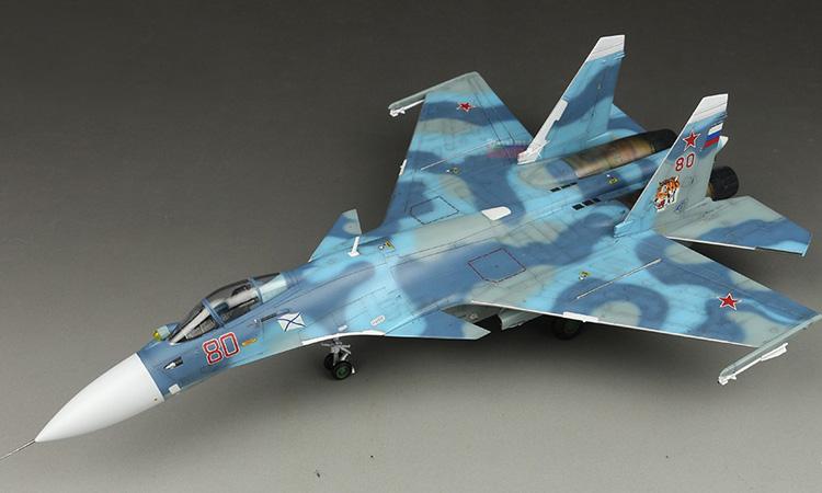 【飞机】长谷川 SU-33 80号