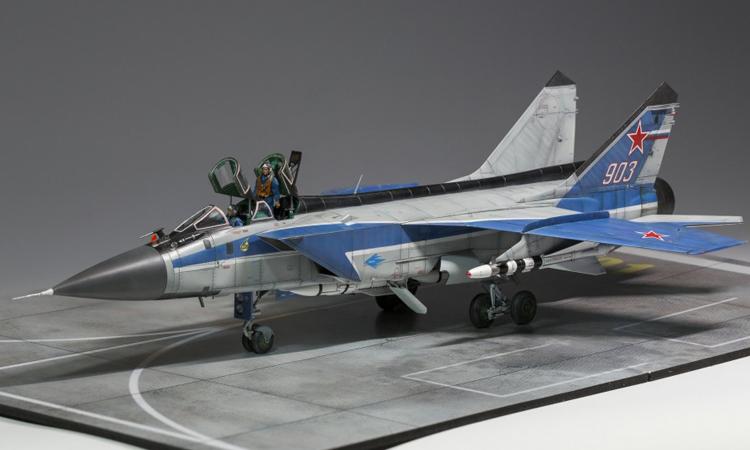 【舰船】1/48 航展版MIG-31E