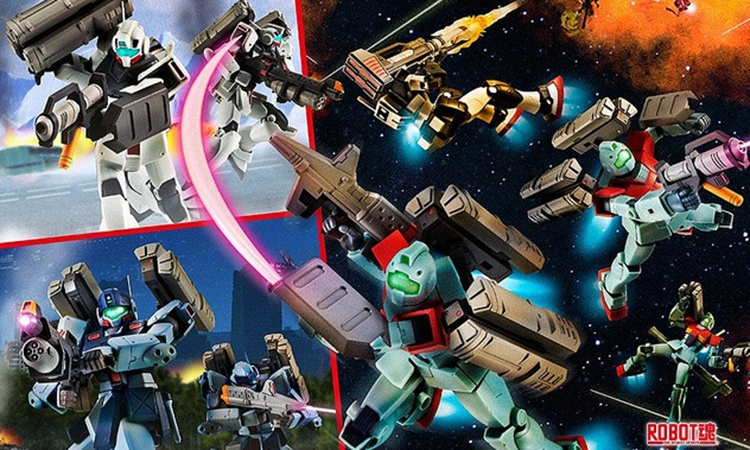 万代 ROBOT魂 「联邦军武器套组」